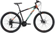 Велосипед Welt Ridge 1.0 D 26 2020 Matt Black/Orange/Green